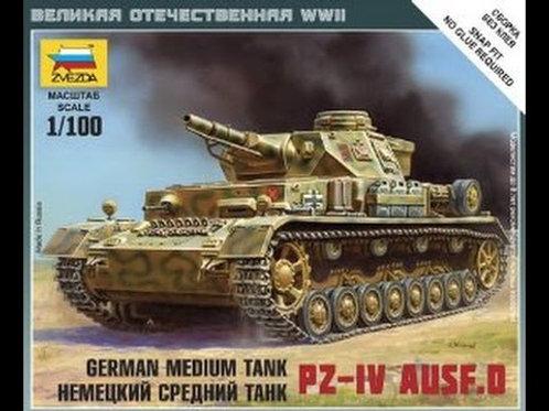 German Medium Tank PZ-4 Ausf.D