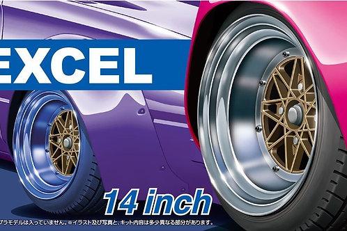 Wheel Set - Excel 14 Inch