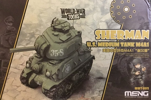 Sherman M4A1 (World War Toons)