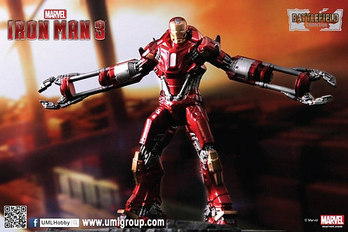 Iron Man Mark 35 Red Snapper
