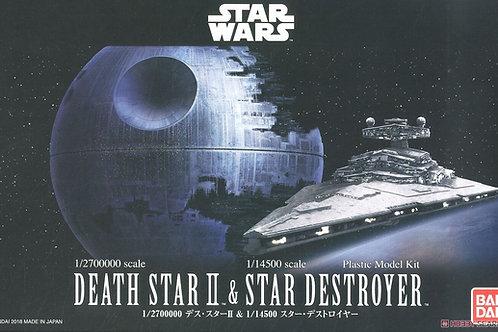 Death Star & Star Destroyer