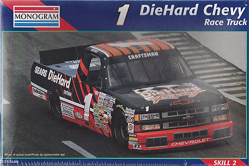 Chevy Silverado Die Hard Race Truck