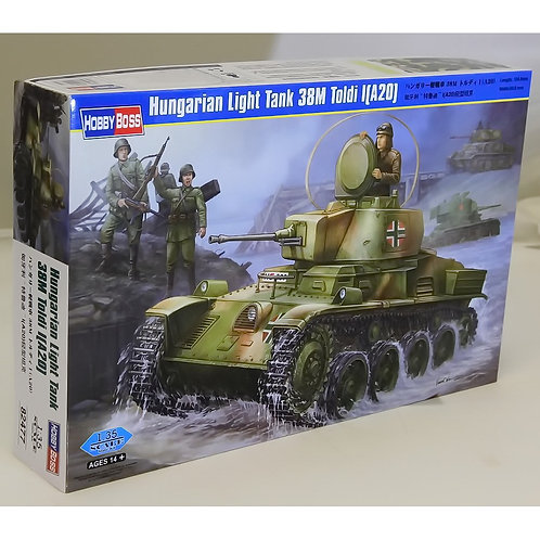 Hungarian Light Tank 38M Toldi (A20)