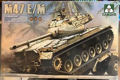 US Medium Tank M47 E/M