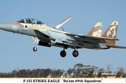 """F-15I Strike Eagle """"ra'am 69th Squadron"""""""