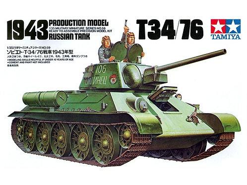 T34/76 1943 Production Model