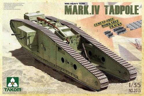 Mark IV Tadpole WWI Heavy Battle Tank