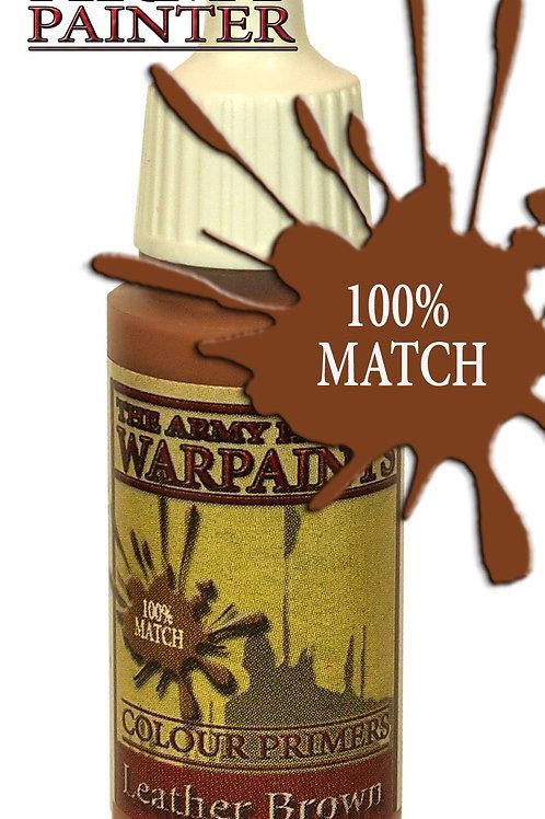 Warpaints Colour Primer - Leather Brown