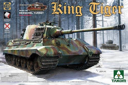 King Tiger Sd.Kfz.182 Henschel Turret (Full Interior)