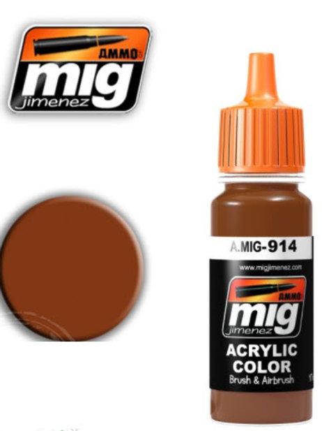 Ammo Acrylic Color Rotbraun Light