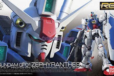 Gundam GP01 Zephyranthes (RG12) + Extras