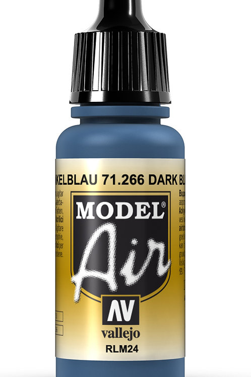 Vallejo Model Air Dark Blue RLM24