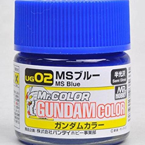 Mr Color Gundam Color - A.E.U.G.'s MS Blue