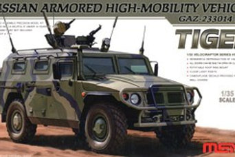 Tiger Russian Armored High-Mobility Vehicle + Extra