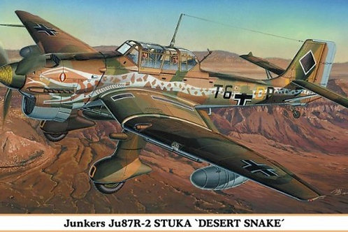 Junkers Ju87R-2 Stuka 'Desert Snake'