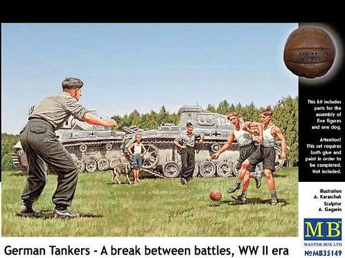 German Tankers - A break between battles