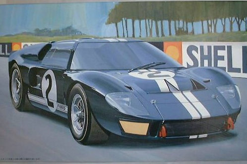 Ford GT40 MkII 66 Lemans + Extras