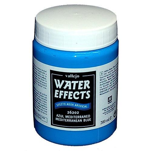 Mediterranean Blue Water Effects