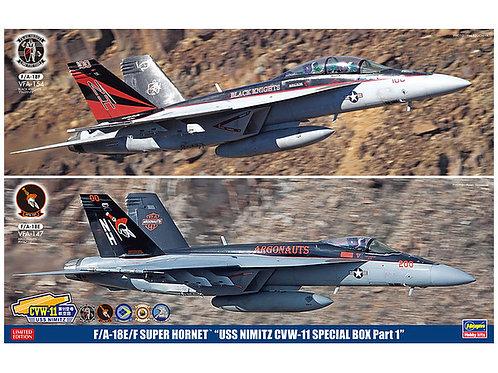 """F/A-18E/F Super Hornet 'USS Nimitz CVW-11 Special Pack"""" (2 kits)"""