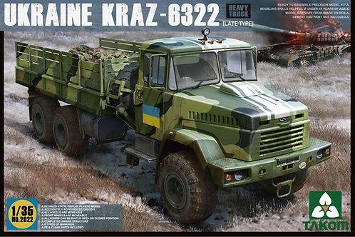 Ukraine KRAZ-6322