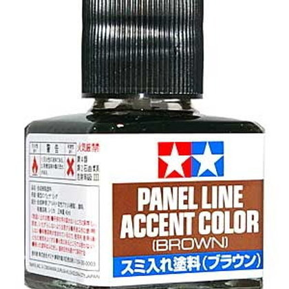 Tamiya Brown Panel Line Accent Colour