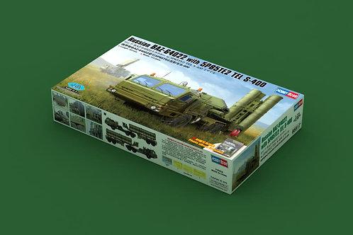 Russian BAZ-64022 Tractor w/5P85TE2 TEL S-400 Missile