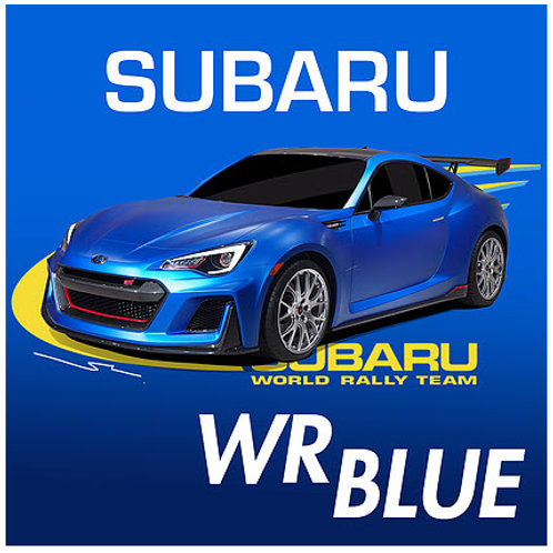 Splash Paints - Subaru WR Blue