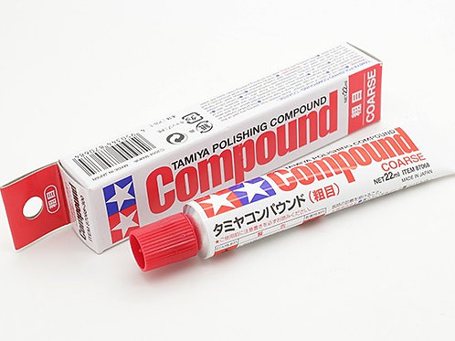Tamiya Polishing Compound - Coarse