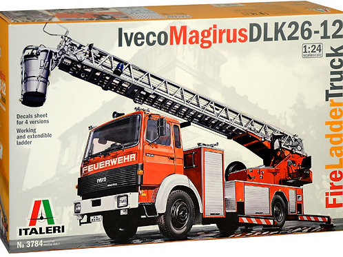 Iveco Magirus DLK26-12 Fire Ladder Truck