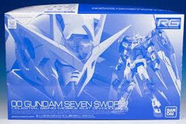 00 Gundam Seven Sword (PBandai) + extras