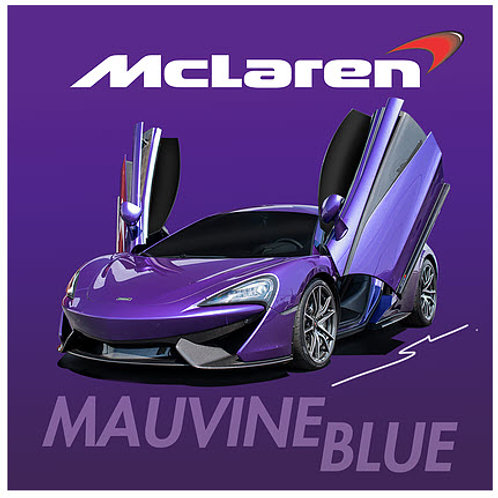 Splash Paints - Mclaren Mauvine Blue