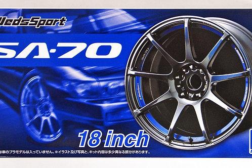 Wheel Set - Weds Sports SA-70 18 Inch