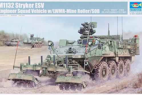 M1132 Stryker ESV w Mine Roller + Extras