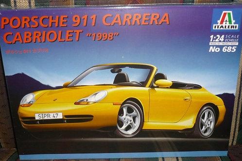 Porsche 911 Carrera Cabriolet 1998