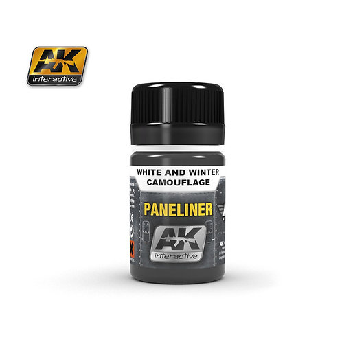 AK Paneliner - White and Winter Camouflage