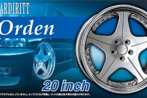 Wheel Set - Leonhardt Orden 20 Inch