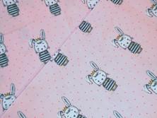 Hase Kaninchen Meerschweinchen rosa