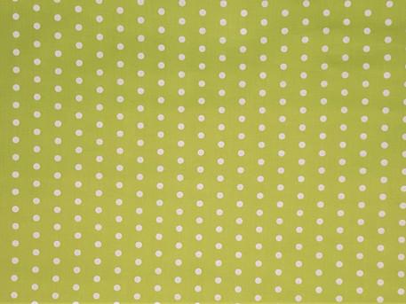 grün mit Punkten