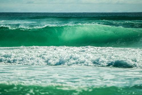 Emerald Ocean - Canvas print