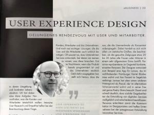 Bernd Lohmeyer - Artikel zu UX in IT-Management