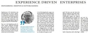 Bernd Lohmeyer zu Experience Driven Enterprise und Digitalisierung