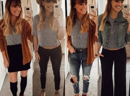 #FashionFuel  1 Shirt, 4 Different Ways