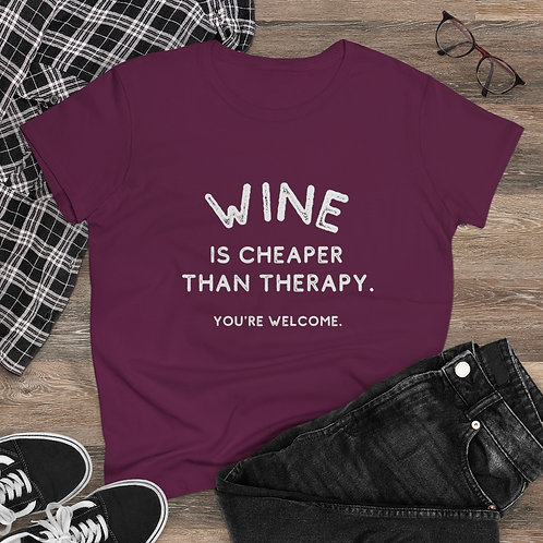 Cheaper Than Therapy Tee