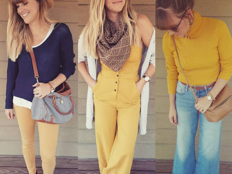 #FashionFuel   MUSTARD: Your go-to fall staple