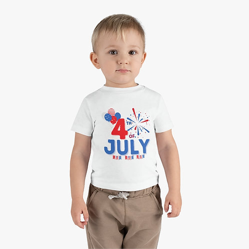 4th of July Infant Tee