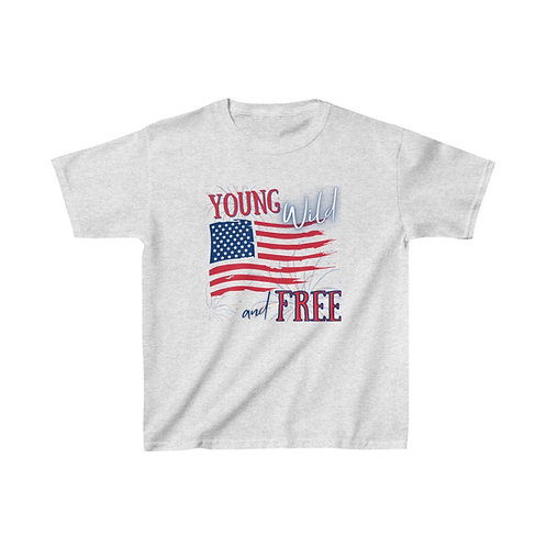 Young Wild and Free Kid's Tee