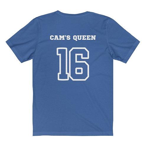 Cam's Queen Jersey Tee