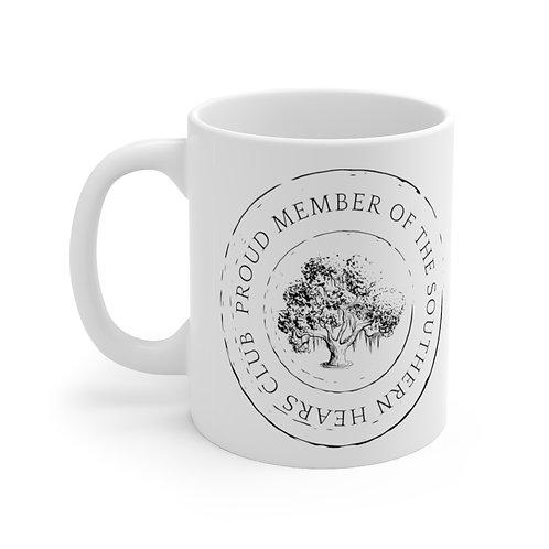 Southern Hearts Club Badge Mug
