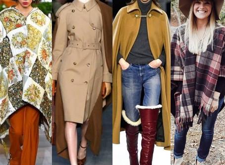#FashionFuel  Trend Alert!! Capes vs. Ponchos?