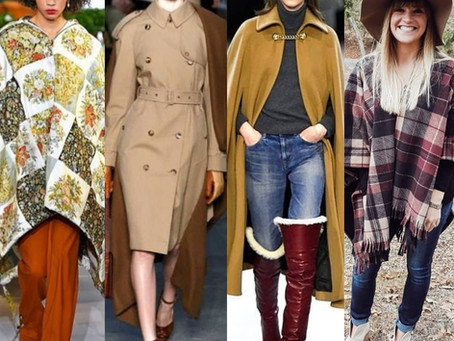 #FashionFuel  Trend Alert!! Capes vs. Ponchos?